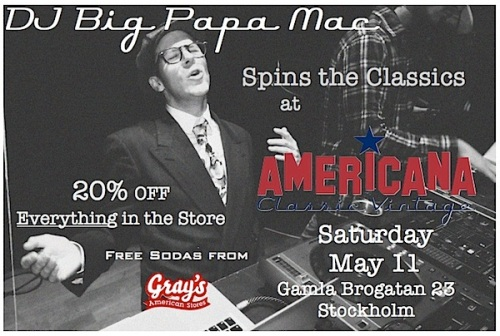 DJ Big Papa Mac at AMERICANA Classic Vintage