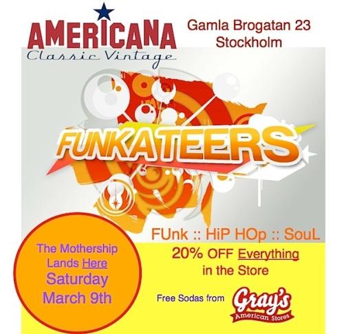 Funkateers Poster