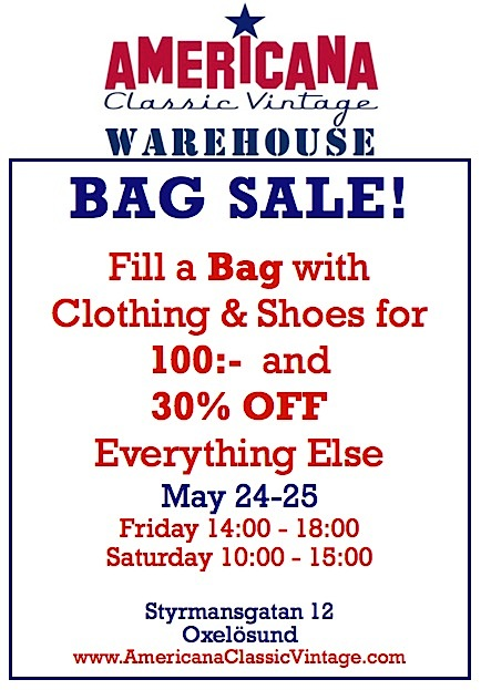 AMERICANA Classic Vintage Bag Sale-Final Weekend